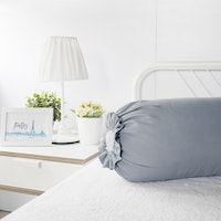 Pillow People Cover Bolster Down Grey