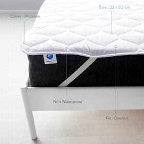 Pillow People Matras Protector Standard 200X200 Putih