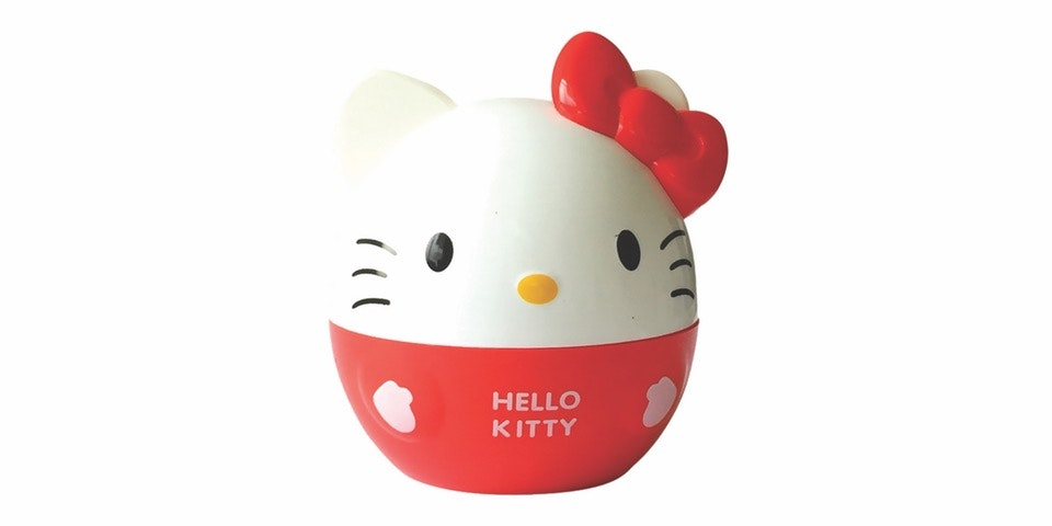 Prissilia Home Living Lampu Hello Kitty Merah NO. GL373