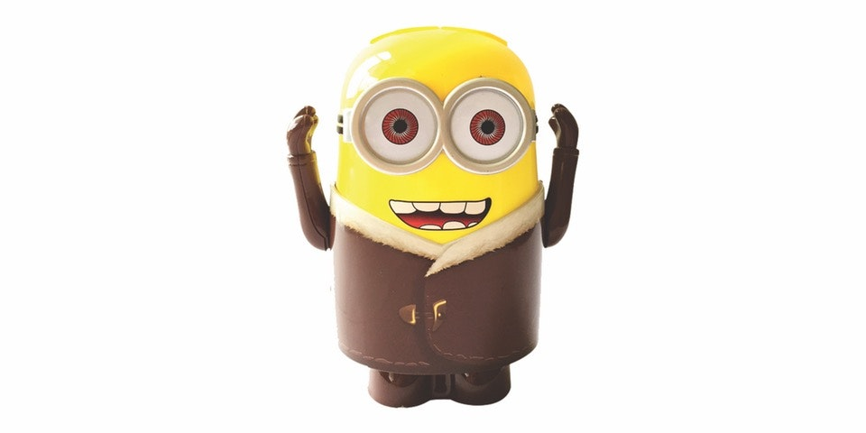 Prissilia Home Living Lampu Meja Minion NO. YW083-1