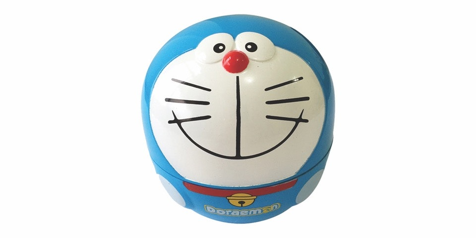 Prissilia Home Living Lampu Meja Doraemon Laugh NO. GL379