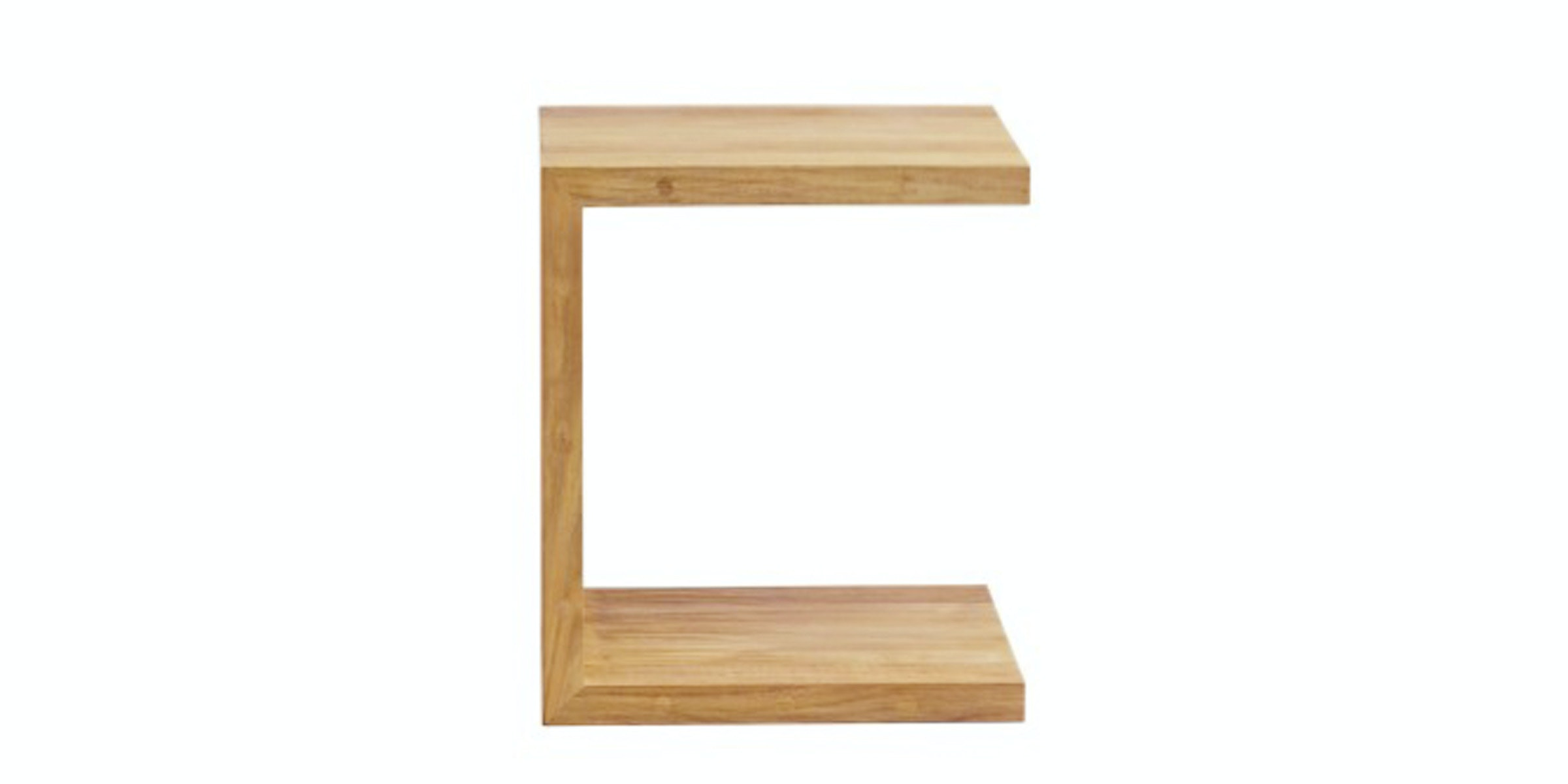 Prissilia Home Living Pacman Pine Side Table