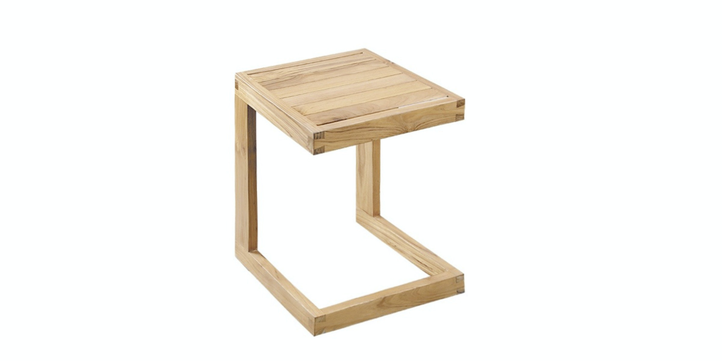 Prissilia Home Living Celebi Pine Side Table