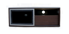 Prissilia Home Living Slide TV Stand 100