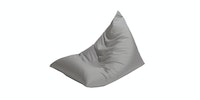 Prissilia Home Living Bean Bag Triangle Abu-abu