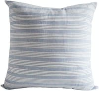 prive living Big Stripe Blue Cushion Cover 45x45cm