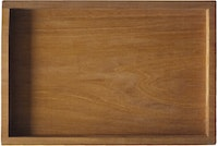 prive living Mahogany Recta Tray