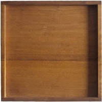 prive living Mahogany Square Tray