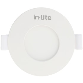 In Lite Lampu Panel Eco Downlight LED Round 3 Watt 3000K Kuning