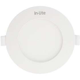 In Lite Lampu Panel Eco Downlight LED Round 6 Watt  3000K Kuning