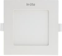 In Lite Lampu Panel Eco Downlight LED Square 3 Watt  6500K Putih