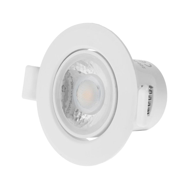 In Lite Lampu Sorot Plafon Mini 8 Watt / Downlight 3 inch 3000K Kuning