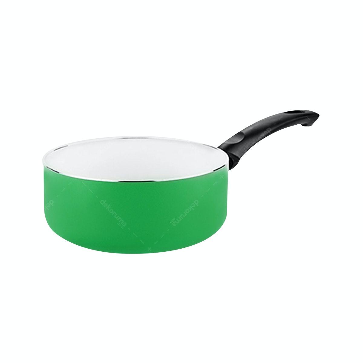 Fincook Ceratinum Ceramic Sauce Pan 16 cm CSP1603 (Green)