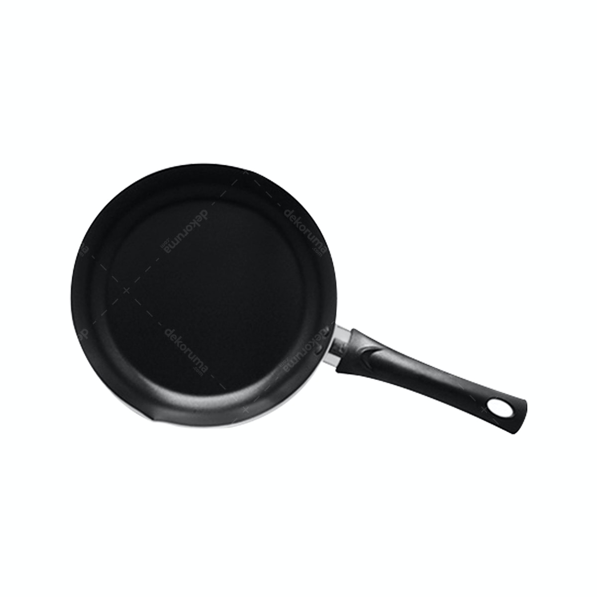 Fincook Penggorengan Non Stick Coating Bibir Tuang 24 cm FP2401TF