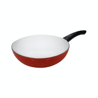 Fincook Wajan Ceramic 24 cm CDFP2402 (Orange)