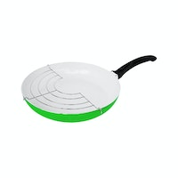 Fincook Wajan Ceramic 26 cm + Rack CFP2603RGN (Green)