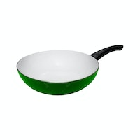 Fincook Wajan Deep Fry Pan Ceramic Ceratinum 20 cm CDFP2002 (Green)