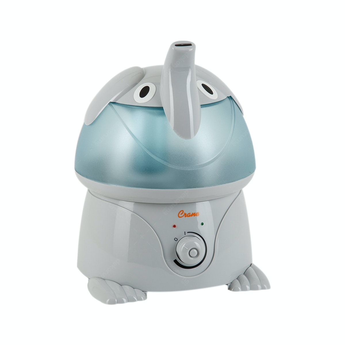 Crane USA Adorables Elephant Grey Cool Mist Humidifier