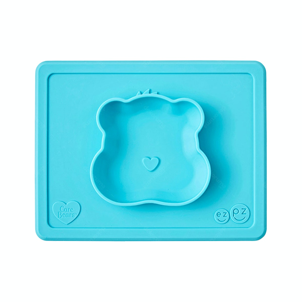 Ezpz Care Bear Bowl in Wish Teal