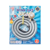 Winn Gas Paket Regulator Selang Flexible W68 M