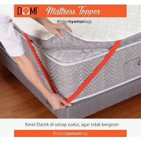 Domi Mattress Topper Latex Maxi 90x200cm
