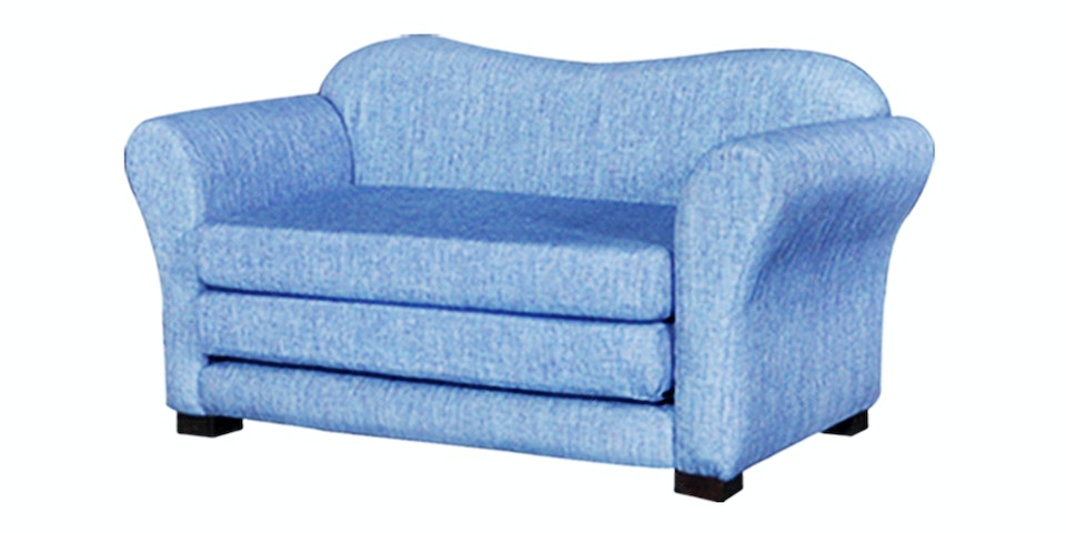 Ridente Scoop Sofa Bed Biru