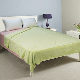 Rise Fleece Blanket Single 180x210cm Lime