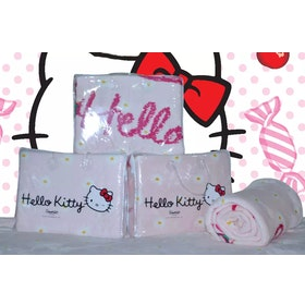 Rise Selimut Bulu Halus Single Hello Kitty Size 160x210cm