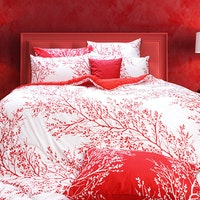 Rise Bed cover Motif Bittersweet 240x240cm