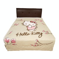 Rise Bedding Bed Cover Hello Kitty Magnolia Nude Original Sanrio 160x220cm