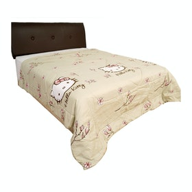 Rise Bedding Bed Cover Hello Kitty Magnolia Nude Original Sanrio 220x230cm