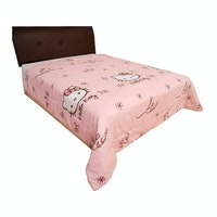 Rise Bedding Bed Cover Hello Kitty Magnolia Pink Original Sanrio 220x230cm