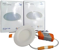 Repro Offilo Downlight IB Panel Round 3w Cool Daylight (Putih)