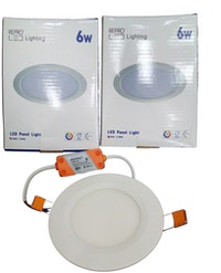 Repro Offilo Downlight IB Panel Round 6w Warm White (kuning)