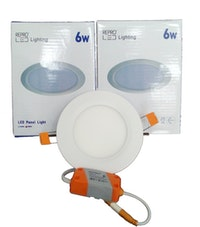Repro Offilo Downlight IB Panel Round 6w Cool Daylight (Putih)