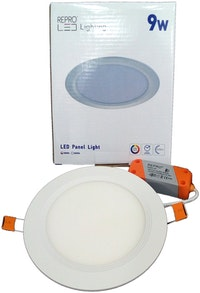 Repro Offilo Downlight IB Panel Round 9w Warm White(Kuning)