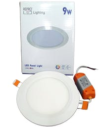 Repro Offilo Downlight IB Panel Round 9w Cool Daylight (Putih)