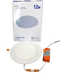 Repro Offilo Downlight IB Panel Round 12w Cool Daylight (Putih)