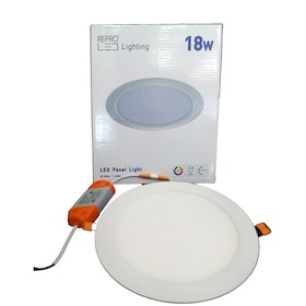 Repro Offilo Downlight IB Panel Round 18w Warm White (Kuning)
