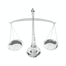 Raphael Living Silver Plated Ornaments Balance