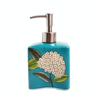 Raphael Living Soap Dispenser Biru Keramik