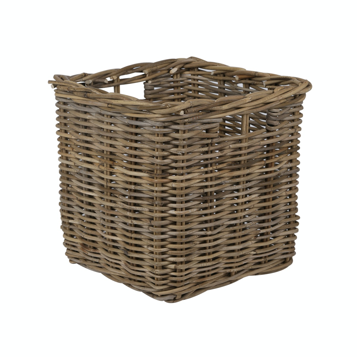 RATTAN Square Basket - L