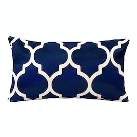 REVOPILLO Moroccan Navy Cushion 30cmx50cm