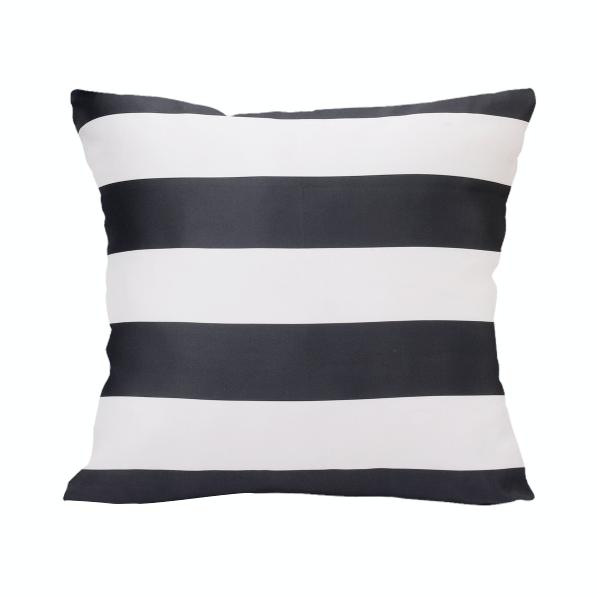 REVOPILLO Strippy Black Cushion 40cmx40cm