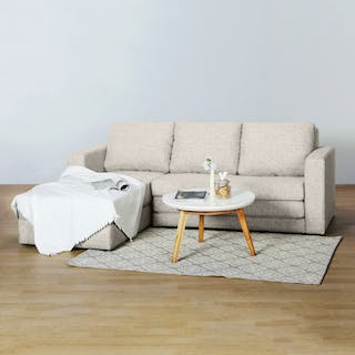 Silk&Cloud Sofa Bed Onyx Krem