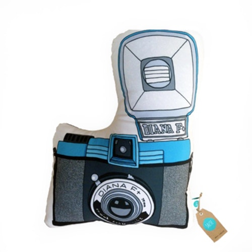Salse Living Diana F+ Camera Plushie Cushion 47&37cm