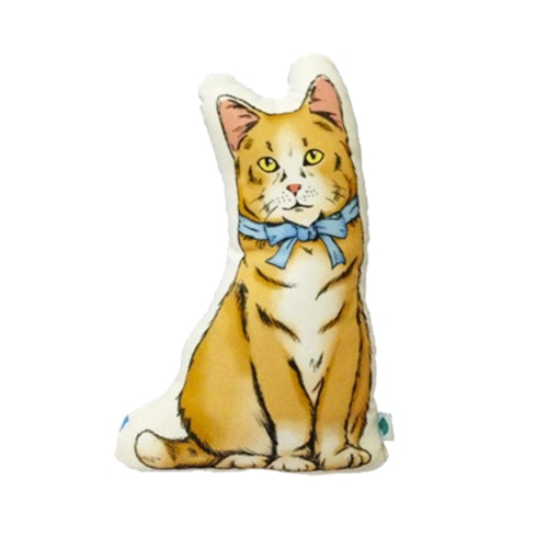 Salse Living Cat Plushie Oranye Cushion 24&37cm