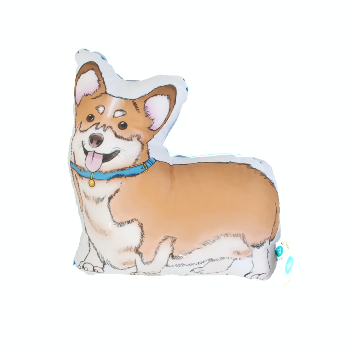 Salse Living Corgi Plushie Cushion 36&32cm