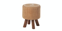 "Seamus Furniture Balzac ""2"" Round Stool"