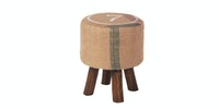 "Seamus Furniture Balzac ""7"" Round Stool"